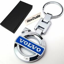 Volvo key ring keyring fob chain keyfobs cars v70 xc90 estate v50 case free p&p