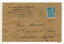 A4810) FRANCE 1944 Cover Paris - Maisons Laffitte