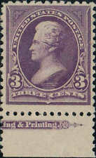 #253 1894 3 CENT JACKSON BUREAU ISSUE MINT-OG/VLH--PFC CERTIFIED