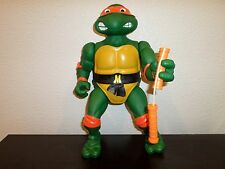 "TMNT GIANT 13"" MICHAELANGELO 100% COMPLETE TEENAGE MUTANT NINJA TURTLES"