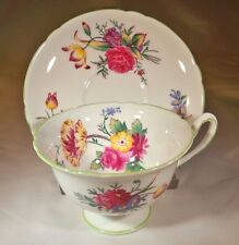 SHELLEY FINE BONE CHINA OLD BOW #13627 GAINSBOROUGH SHAPE CUP & SAUCER SET!