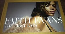 FAITH EVANS 2005 Retail PROMO POSTER for First lady CD USA 24 x15 MINT