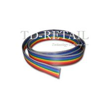 10-core Rainbow Wire - Strap Wire - Ribbon Flat Cable Wire Strip - X 1 METERs