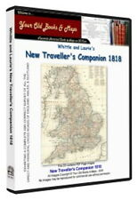 Whittle & Lauries New Travellers Companion 1818 Maps CDROM