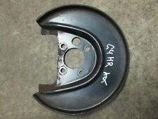 Ankerblech Bremsanlage hinten rechts AUDI A3 Golf 4 Bora 1J0615612D Hitzeblech
