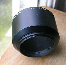original miranda 135mm  3.5  lens hood   46mm screw in