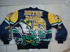 Vintage NCAA Notre Dame Fighting Irish Chalk Line Jacket L