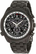 Citizen Eco-Drive BL5405-59E Perpetual Calendar Chronograph Black Braclet Watch