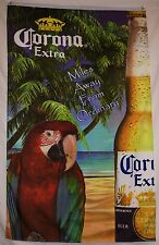 Corona Extra Miles Away From Ordinary Vertical Beer Flag 3' X 5' Deluxe Banner