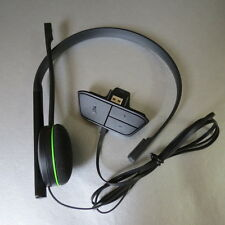 Genuine Microsoft Official Xbox One Wired Chat Headset with Built in Adapter
