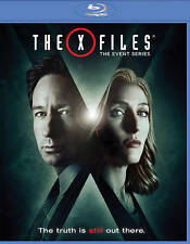 The X-FILES The Event Series Blu-ray Disc,  2016 (2 Disc Set )