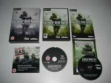 Call of Duty 4 Modern Warfare Limited Collector's Edition PC DVD ROM NP COD 4