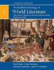 The Bedford Anthology of World Literature, Compact Edition, Volume 1: The Ancie