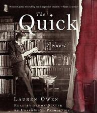 The Quick by Lauren Owen (2014, CD, Unabridged) 15 CDj's, 19 hrs