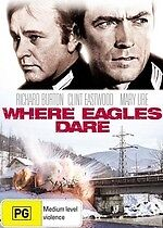 Where Eagles Dare * NEW DVD *