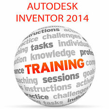 Autodesk Inventor 2014-Video Tutorial DVD de entrenamiento