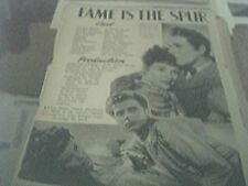 newspaper article 1947 - october man production 2 page
