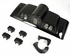 Mutazu Black Pearl Inner Fairing Cap kit w/ switch cap fits Harley Touring
