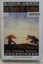 Le Morte D'Arthur by Sir Thomas Malory: Unabridged Cassette Audiobook (RR5)