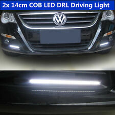 "2 Pcs DRL 5.5"" Waterproof White Fog Lamp COB LED Daytime Running Lights For BMW"