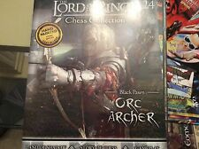 Lord of the rings chess collection magazine 24 - black pawn - Orc archer