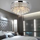 Crystal Chandelier Elegant LED Ceiling Light Lamp Pendant Lighting Fixture