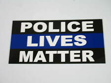 Wholesale Lot of 6 Police Lives Matter Blue Line Decal Bumper Sticker