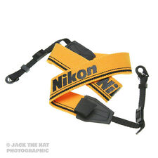 Nikon Pro Camera Strap. Universal Connectors. Fits all DSLR and SLR Cameras.