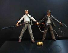 """lot of 2 Indiana Jones  Action Figures 3.75"""" #DS5"""