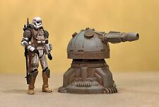 Custom Cast 2pc Sentry Gun Turret Playset Diorama Acid Rain Star Wars 1:18 3.75""