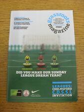 Revista de movilización de Sep-2010: edición 12-el único domingo Liga de fútbol Magazin