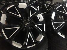 4 neue Alu Oxigin15 black foil white 8x19, 5/120, ET35, BMW 3er E90, E91, E92