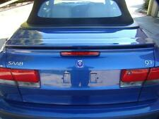 SAAB 9 3 BOOTLID WITH SPOILER, CONVERTIBLE, 06/98-09/02