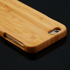 """Genuine Natural Wood Wooden Bamboo Hard Back Case Cover For 4.7"""" NEW iPhone 6"""