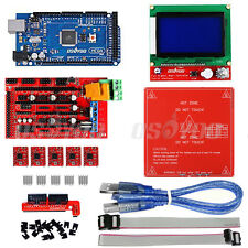 3D Stampante Kit Ramps 1.4 +Mega2560 +12864 LCD+MK2B Heatbed+ 5*A4988 for Reprap