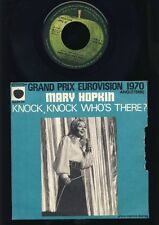 Mary Hopkin - Knock, Knock Who's There ? - I'm Going - 7 Inch Vinyl - FRANCE