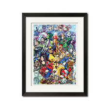 Marvel vs. Capcom Street Fighter x Ryu x Wolverine x Chun Li x Spiderman Poster