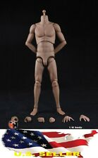 HAOYU 1/6 Super Sport Muscular Male Narrow Shoulders TAN Body for Hot Toys ❶USA❶