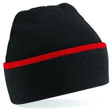Personalizado Bordado Gorro Con Puños Jersey Traje Estampado Wooley Sombrero
