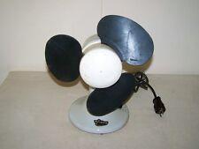 Beau vieux Ventilator,Porcelaine Boîtier,Art Déco Bauhaus Ventilateur VEB Eltros