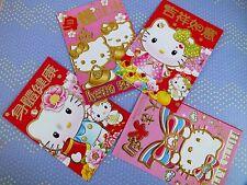 24 Cinese L Rosso & Rosa Hello Kitty busta festa di compleanno ragazza giapponese ee+dd9