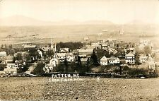 A View of Patten ME From Finch Hill RPPC
