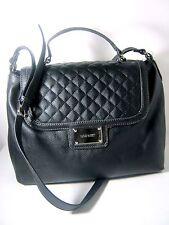 Nine West Women's Slice of Spring Satchel Bag Purse Shoudler Bag Black NWT