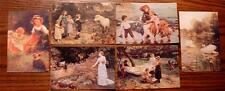 SET OF SIX BEAUTIFUL NEW, UNUSED, UN-POSTED, VICTORIAN REPRODUCTION POSTCARDS