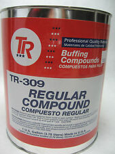 Buffing/Polishing compound TR-309 *Professional*For gel-coat/polyester clear Gal