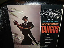101 Strings play The World's Most Famous Continental Tangos LP