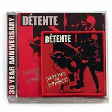 DETENTE - RECOGNIZE NO AUTHORITY, CD 30 YEAR ANNIVERSARY EDITION 2017 +PATCH NEW