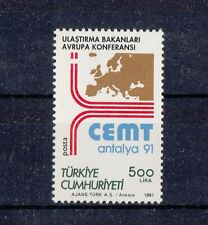 TURCHIA-TURKEY  1991 C.E.M.T. 2681 - Mnh