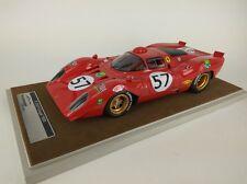 Tecnomodel Ferrari 312P Coupe #57 Adamowicz/Parson Le Mans 1970 1/18