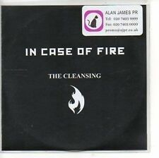 (AP654) In Case Of Fire, The Cleansing - DJ CD